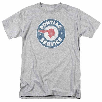 Pontiac Vintage Pontiac Service Gray T-Shirt