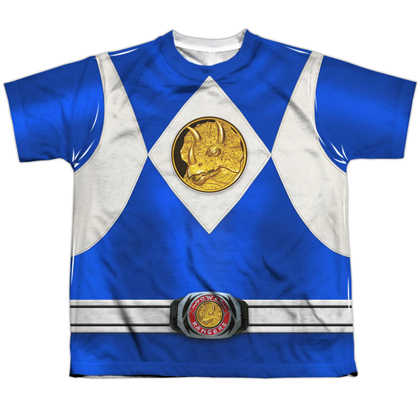 Power Rangers Blue Ranger Youth Costume Tee