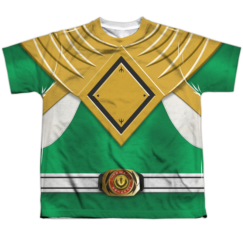 Power Rangers Green Ranger Youth Costume Tee