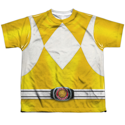 Power Rangers Yellow Ranger Youth Costume Tee