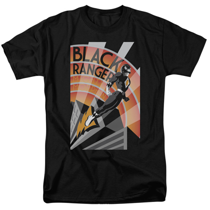 Power Rangers Black Ranger Tshirt