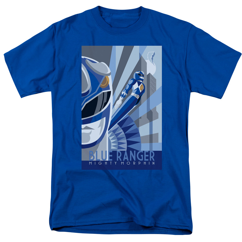 Power Rangers Blue Ranger Tshirt