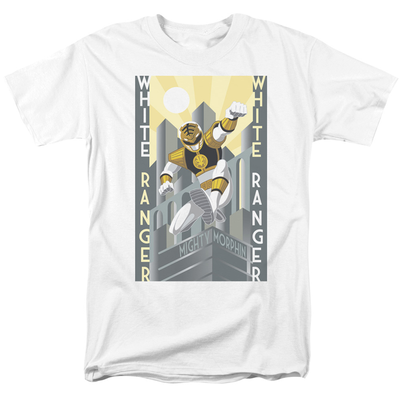 Power Rangers White Ranger Tshirt
