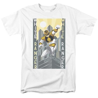 Power Rangers White Ranger Tshirt