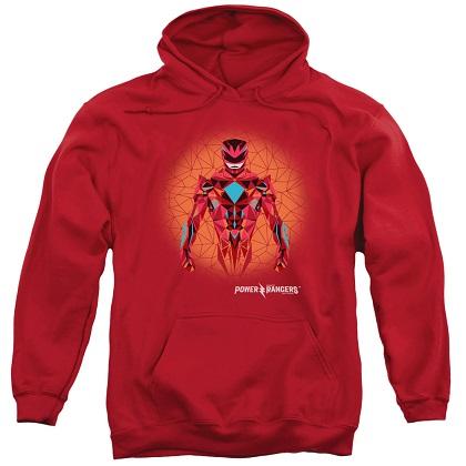 Power Rangers The Movie Red Ranger Red Hoodie
