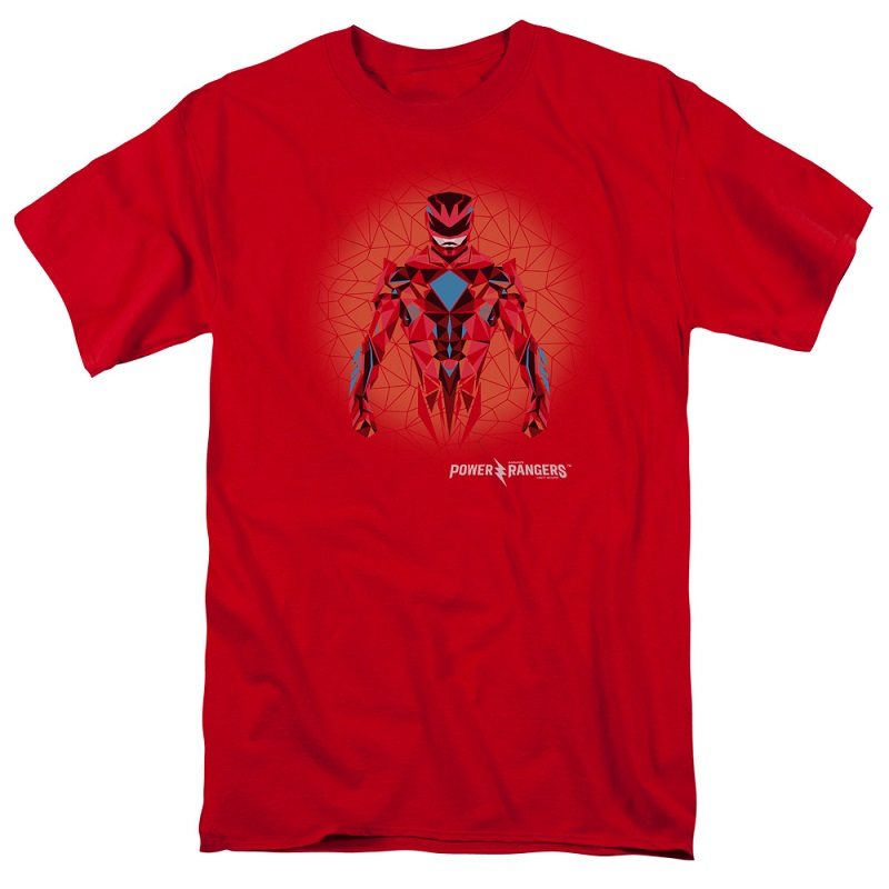 Power Rangers The Movie Red Ranger Tshirt