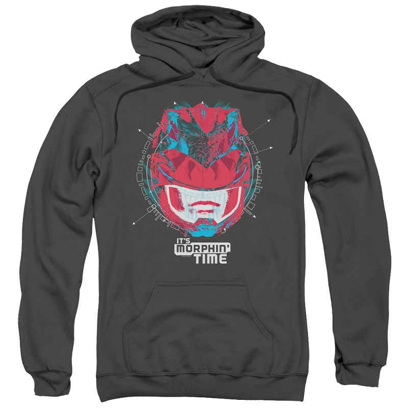 Power Rangers The Movie Its Morphin Time Hoodie