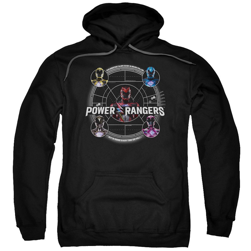 Power Rangers The Movie Greatest Glory Hoodie
