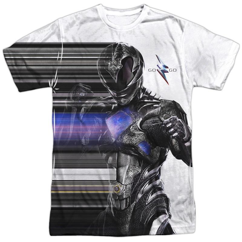Power Rangers The Movie Black Streak Tshirt