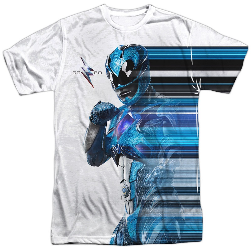 Power Rangers The Movie Blue Streak Tshirt