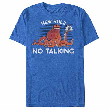 Disney Pixar Finding Dory New Rule Blue  T-Shirt