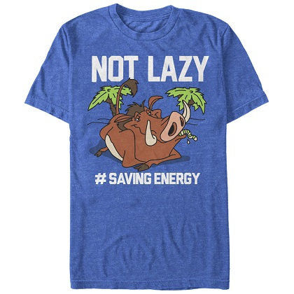 Lion King Not Lazy Tshirt
