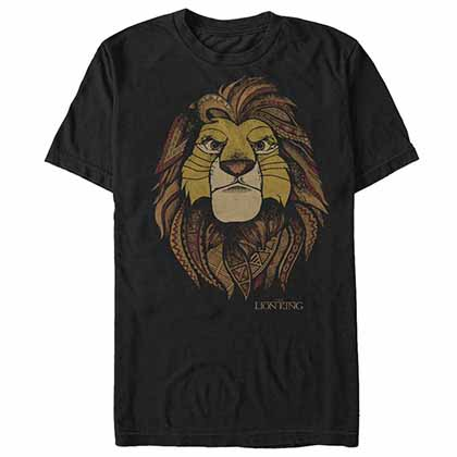 Disney Lion King Africa Gray T-Shirt