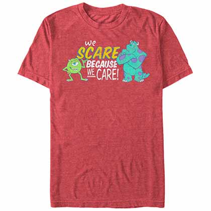 Disney Pixar Monsters Inc Caring Red  T-Shirt