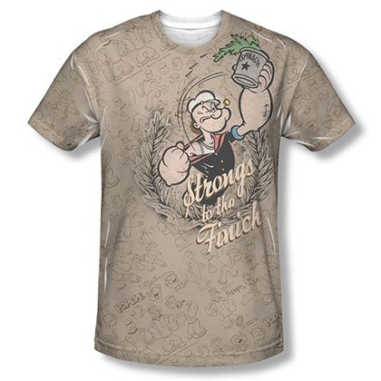 Popeye Strongs To The Finich Sublimation T-Shirt