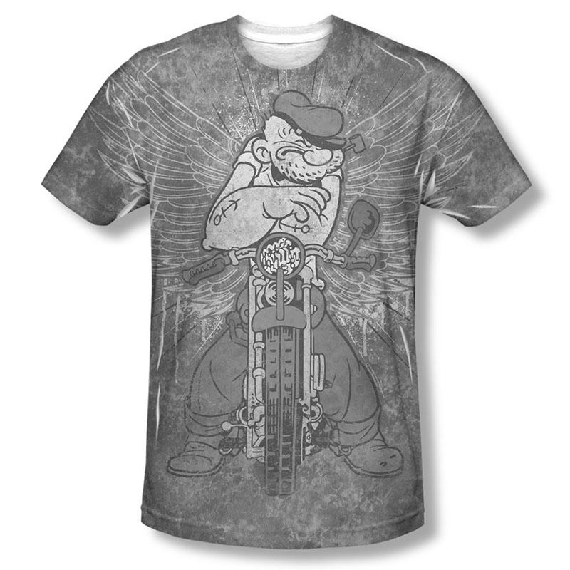 Popeye Rough Rider Sublimation T-Shirt