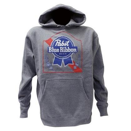 PBR Grey Hoodie