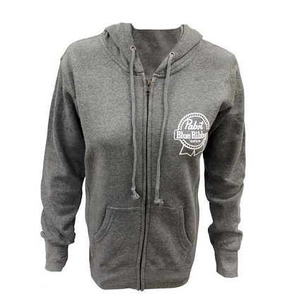 PBR Women's Zip Up Hoodie