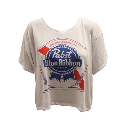 PBR Logo Womens Crop Top