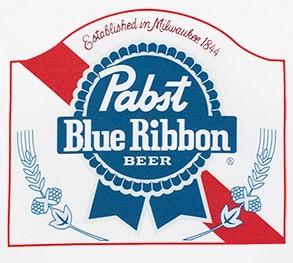 Pabst Blue Ribbon Classic Logo T-Shirt