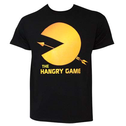 Pac-Man Hangry Games Men's Black Tee Shirt