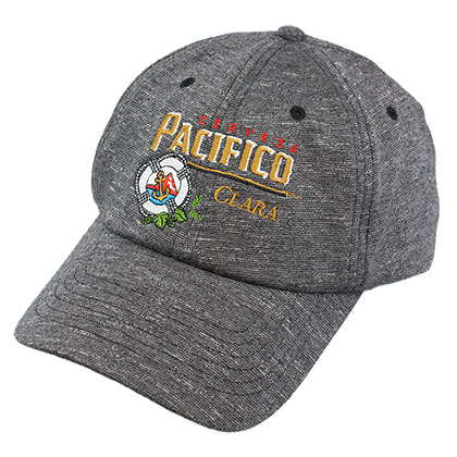 Pacifico Strapback Heathered Grey Hat