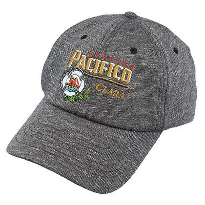 Pacifico Grey Heathered Strapback Hat