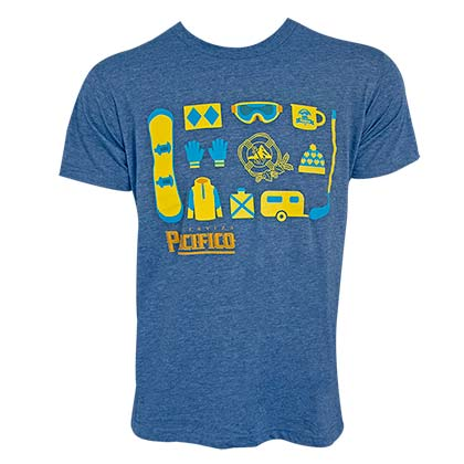 Pacifico Men's Heather Blue USOSB Lifestyle T-Shirt