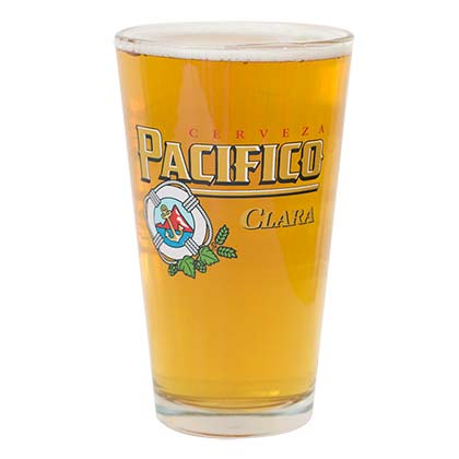 Pacifico Cerveza Pint Glass