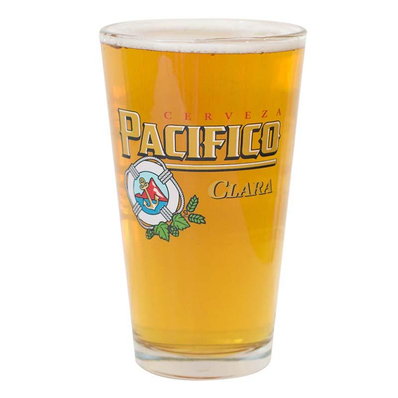 Pacifico Cerveza Pint Glass