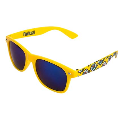 Pacifico Yellow Reflective Sunglasses