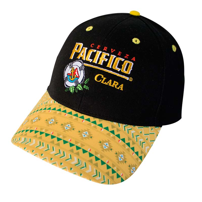 Pacifico Patterned Bill Snapback Hat