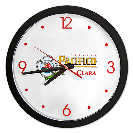 Pacifico Clara White Clock