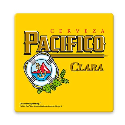 Pacifico Beer Coaster