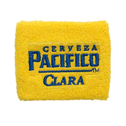 Pacifico Beer Terry Cloth Wrist Band