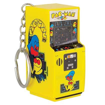 Pac-Man Miniature Arcade Keychain