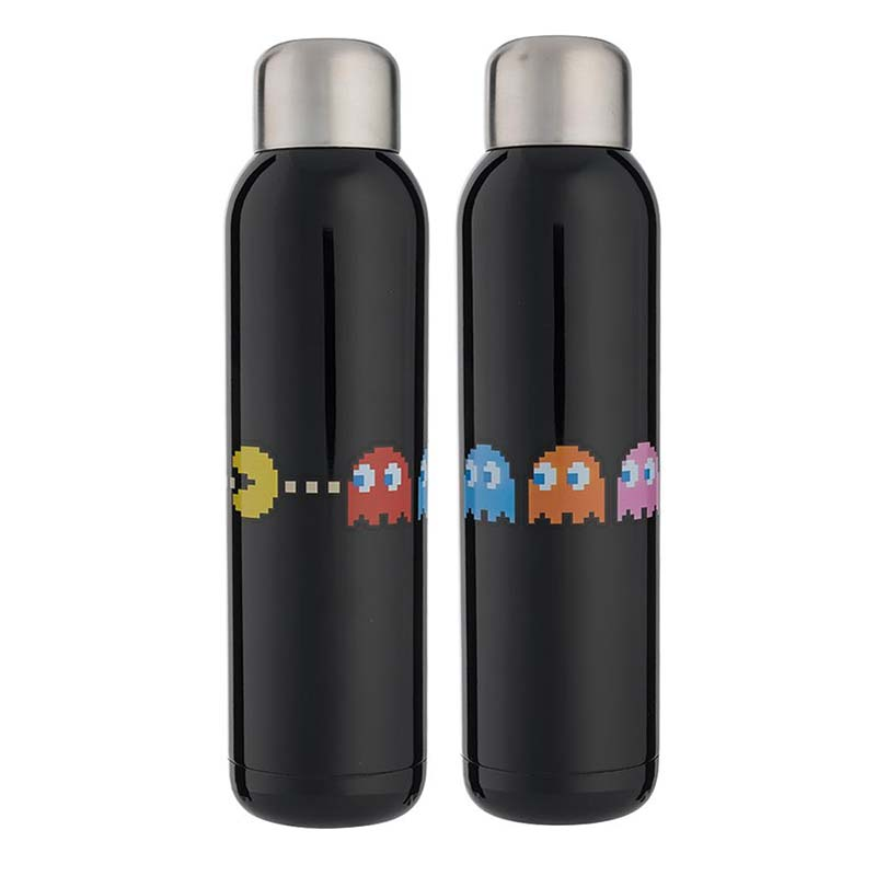 Pac-Man Retro Game Stainless Steel 22oz Water Bottle