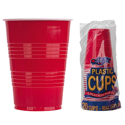 Red Solo Cups 20 Pack 16 Ounce