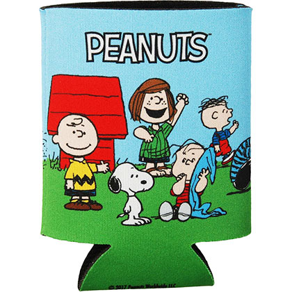 Peanuts Cast Can Cooler