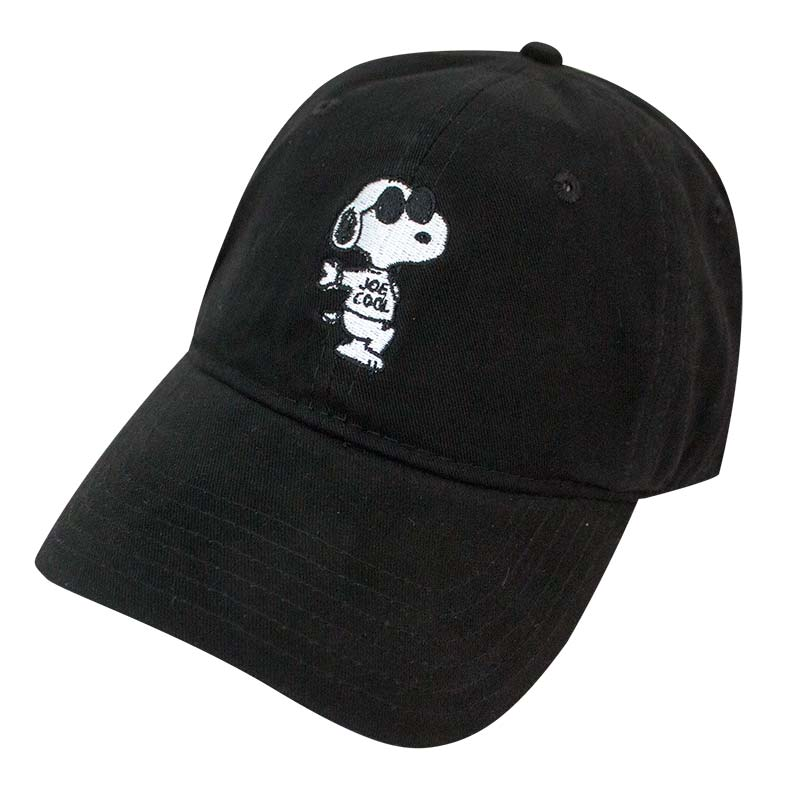 Snoopy Black Joe Cool Dad Hat
