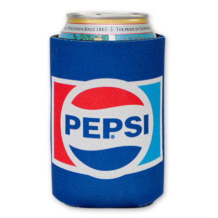 Pepsi Cola Blue Can Koozie