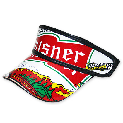 Old Style Pilsner Beer Box Visor Hat - FREE SHIPPING