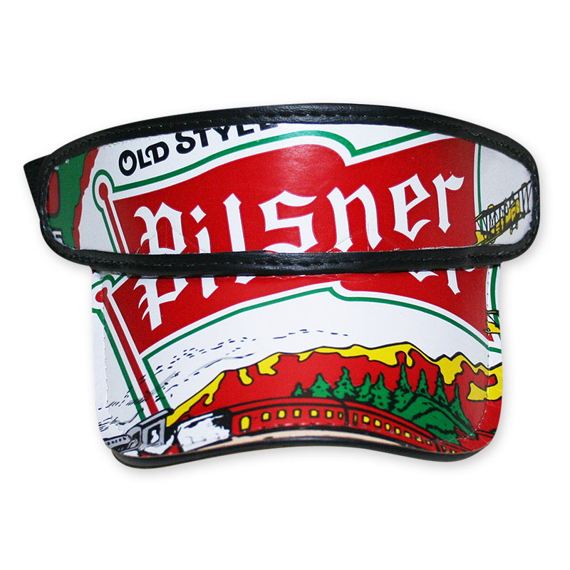 Old Style Pilsner Beer Box Visor Hat - FREE SHIPPING db0330b156b0