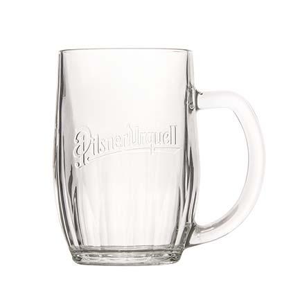 Pilsner Urquell Glass Tankard