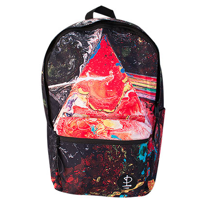 Pink Floyd Black Dark Side Of The Moon Backpack