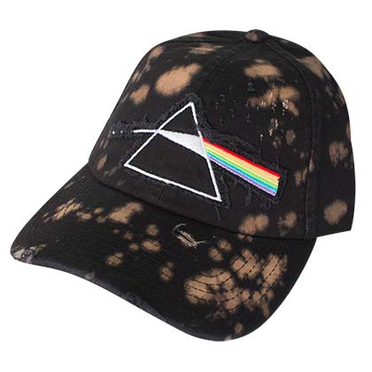Pink Floyd Bleached Dark Side Of The Moon Hat