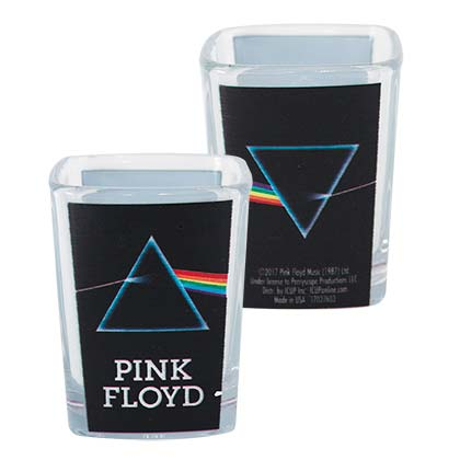 Pink Floyd Dark Side Of The Moon Square Shot Glass