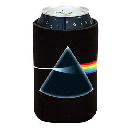 Pink Floyd Black Can Cooler