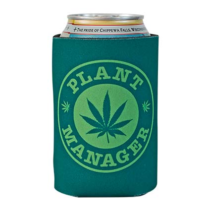 Pot Leaf Plant Manager Can Cooler