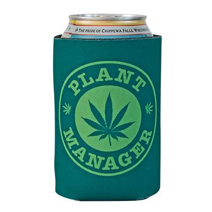 Pot Leaf Plant Manager Koozie